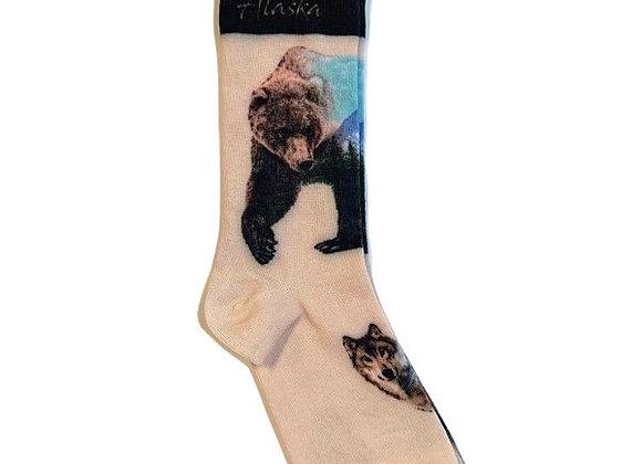 Wolf & Bear Socks