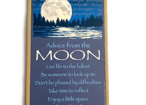 Advice from the Moon Sign