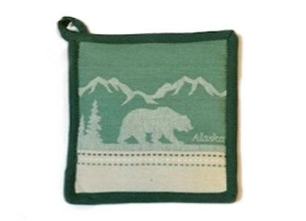 Lodge Bear Hot Pad