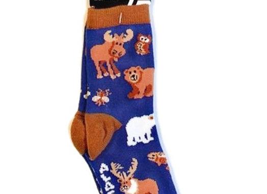 Ak Wildlife Toddler Socks