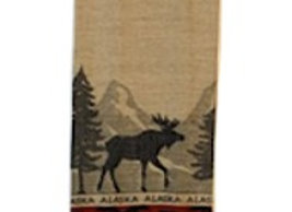 Mountain Moose Hand Towel