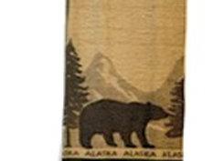 Mountain Bear Hand Towel