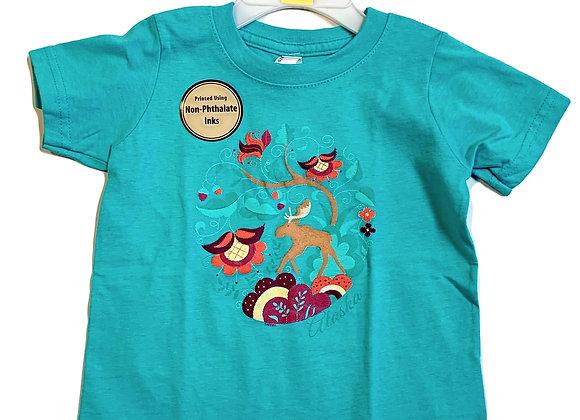 Crewel Toddler T-Shirt