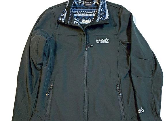 Womans Summit Pattern Collar Shell Jacket