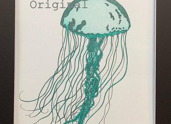 Alaskan Pen Drawing Original