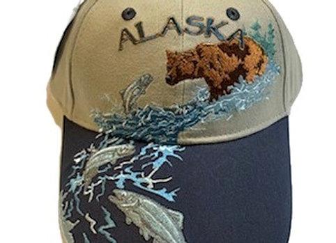 Fishing Bear Hat