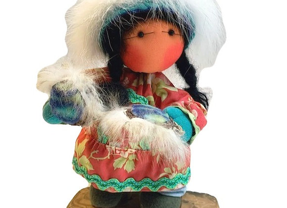 Red Dancer Girl Dupree Doll