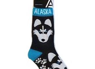 Reverse Husky Youth Socks
