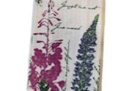 Wild Flower Hand Towel