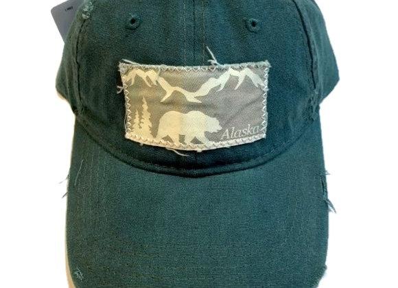 Worn Bear Baseball Hat