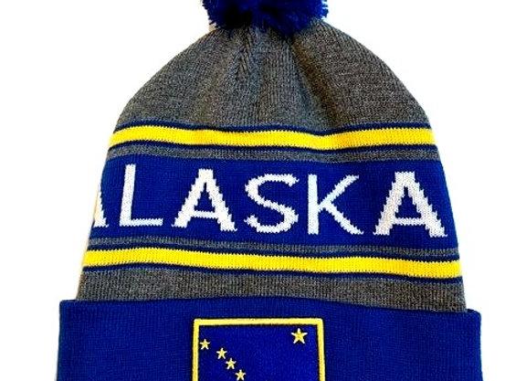 AK Dipper Patch Knit Hat