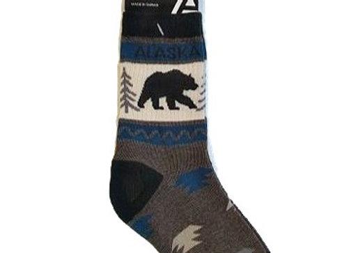 Black Bear Tree Youth Socks