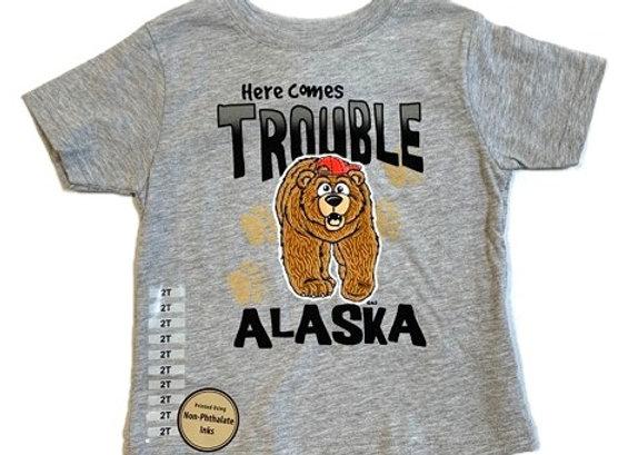 Trouble Bear Toddler T-Shirt