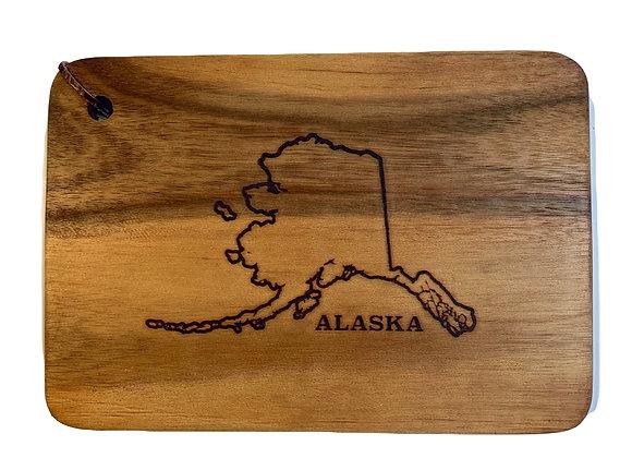 Alaska Wood Cutting Board