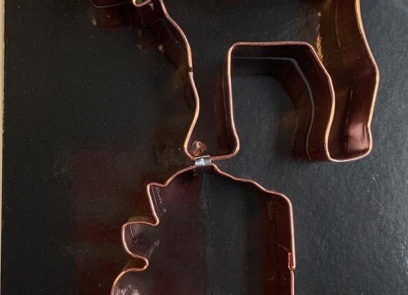 Copper Cookie Cutters