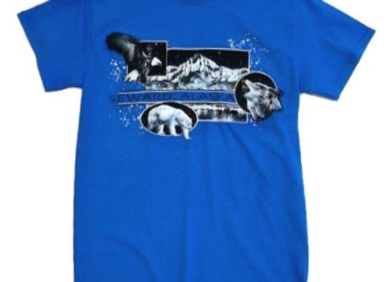 Seward Animal Blocks T-Shirt