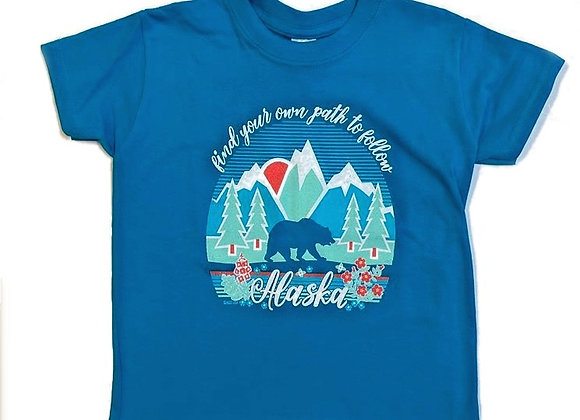 Find Your Path Kids T-Shirt