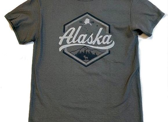 Hexagon Alaska T-Shirt