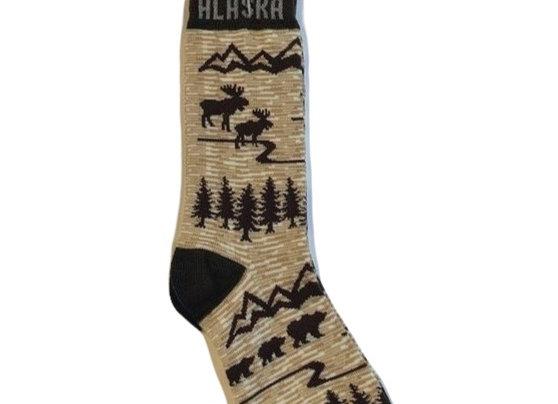 Unisex Animal Icons Socks