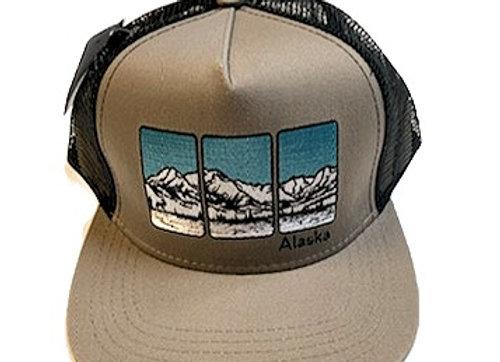 Mountain Triptych Hat
