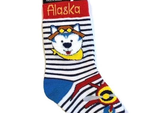 Husky Flyer Toddler Socks