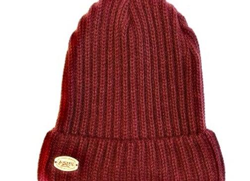 Maroon Knit Hat