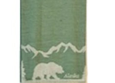 Lodge Bear Hand Towel