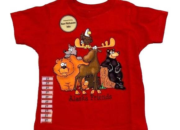 Alaska Friends Toddler T-Shirt