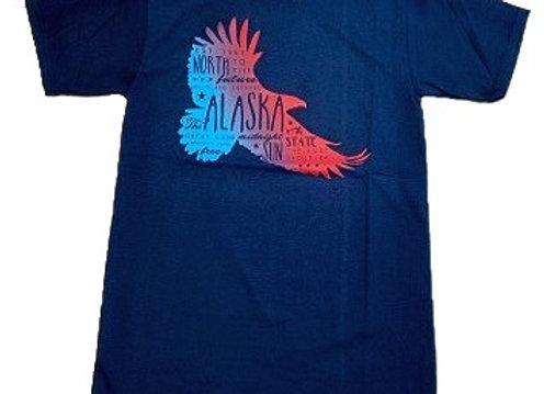 Tribal Words Eagle T-Shirt