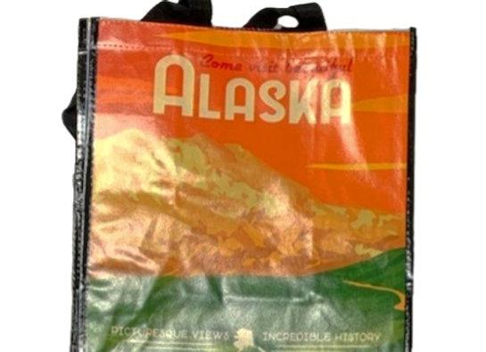 Reusable Photographic Visit Alaska Bag