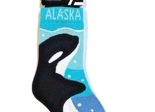 Orca Toddler Socks