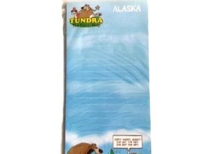 Tundra Comic Bear Notepad