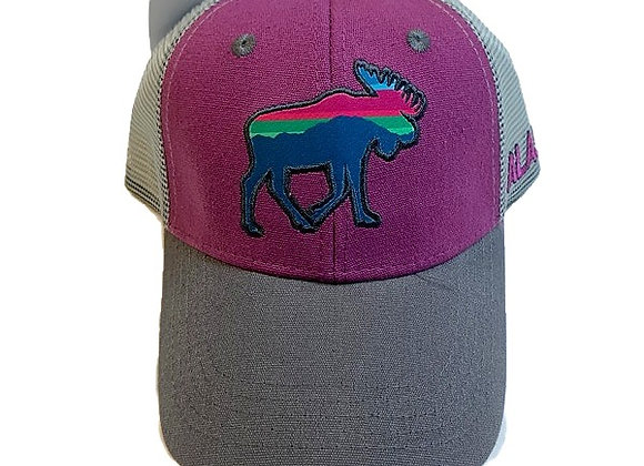 Aurora Moose Baseball Hat
