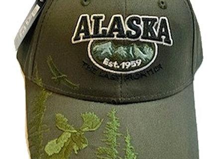 Green Moose Hat