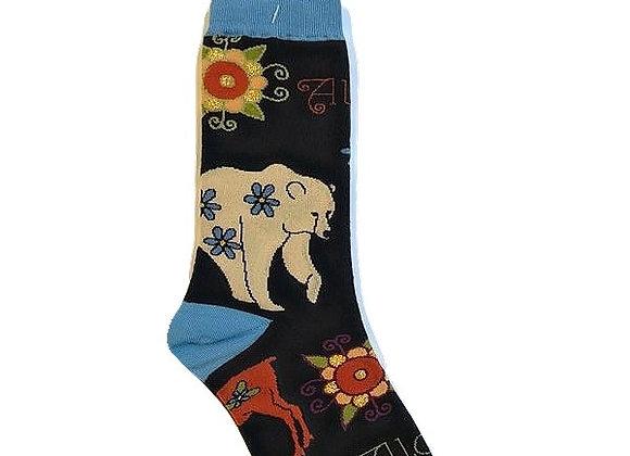 Womens Zentangle Socks