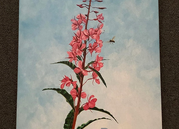 Fireweed Oil Paint Giclee