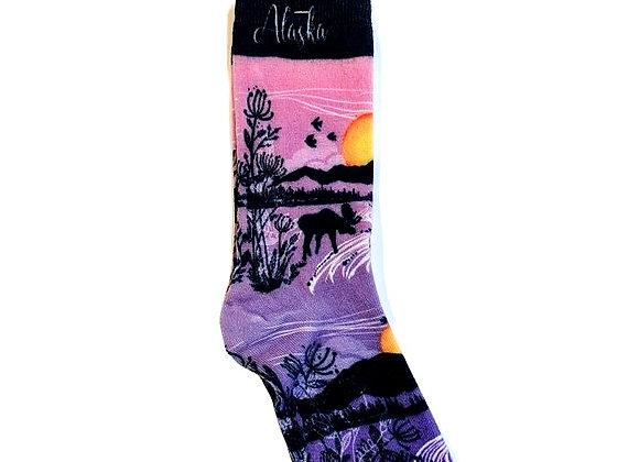 Sunset Reflection Socks