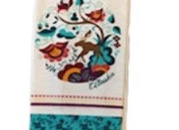 Crewel Moose Hand Towel