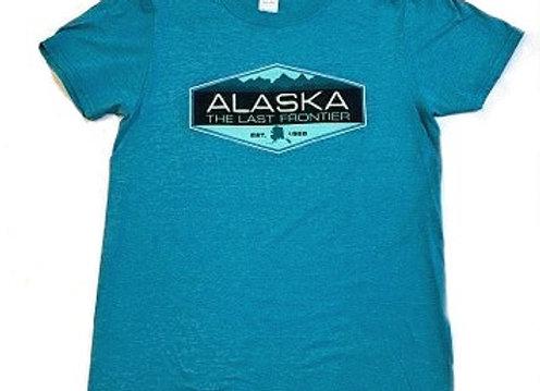 Teal Mountains T-Shirt