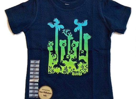 Long Neck Animal Toddler T-Shirt