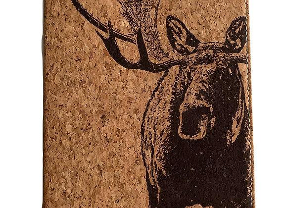 Cork Cover Moose Journal