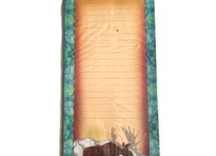 Quilted Moose Notepad