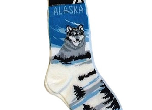 Wolf Youth Socks