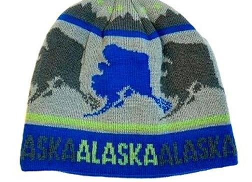 Text AK Knit Hat