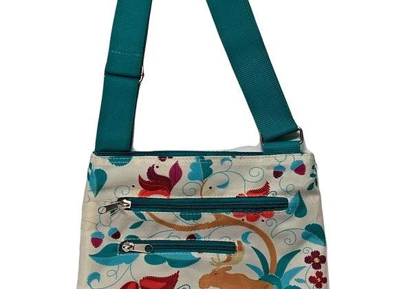 Crewel Moose Crossbody Bag
