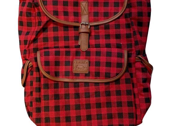 Buffalo Plaid Backpack