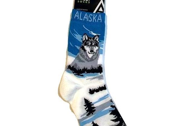 Unisex Wolf Trees Socks