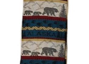 Rustic Bear Hand Towel