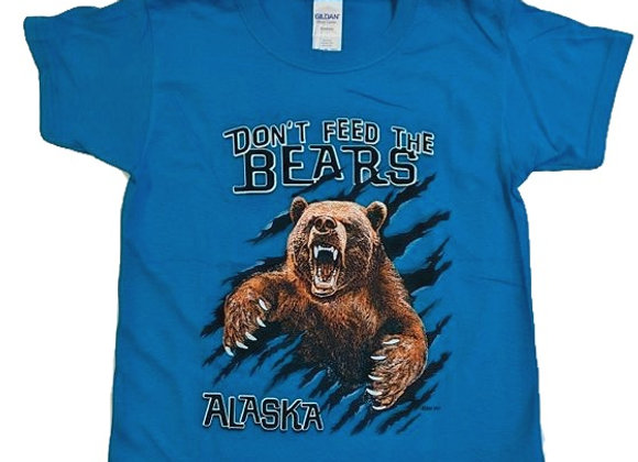 Dont Feed the Bears Kids T-Shirt