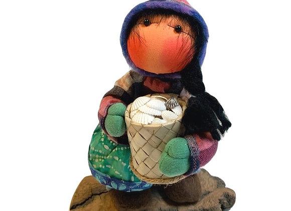 Girl Clam Pot Dupree Doll